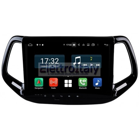 Navigatore Jeep Compass 10 pollici Android 8 Octacore