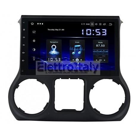 Navigatore Jeep Wrangler 10 pollici Android 8