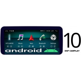 Cartablet Navigatore 10 pollici Mercedes Classe A CLA GLA CLS NTG 4x Android DSP