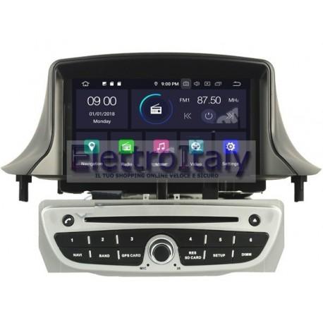 Navigatore Renault Megane 3 Android Octacore