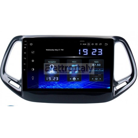 Navigatore Jeep Compass 9 pollici Android 8 Octacore