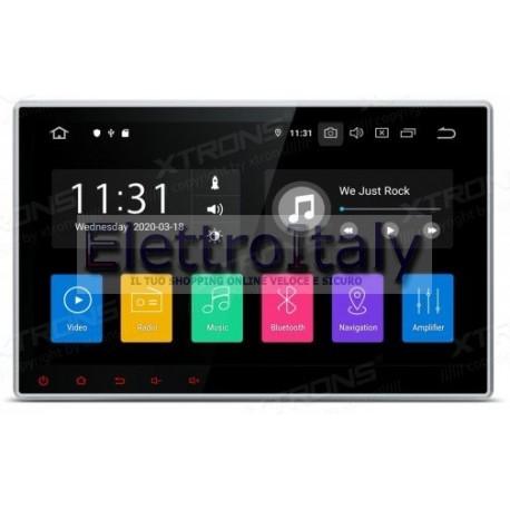 Autoradio Navigatore 1 din universale 10 pollici Android 10