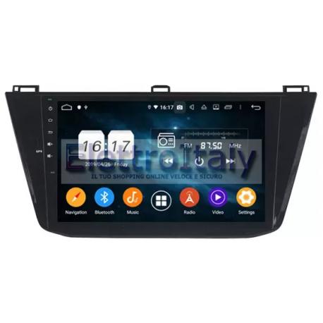 Autoradio Navigatore volkswagen Tiguan 2018 Android 9