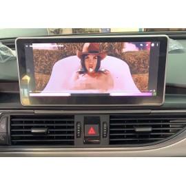 Navigatore Audi A6 10 pollici Android GPS Multimediale