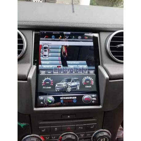 Navigatore Android Land Rover Discovery 4 Tesla Multimediale