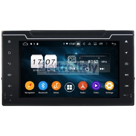 Cartablet Navigatore Toyota Auris android Multimediale DAB