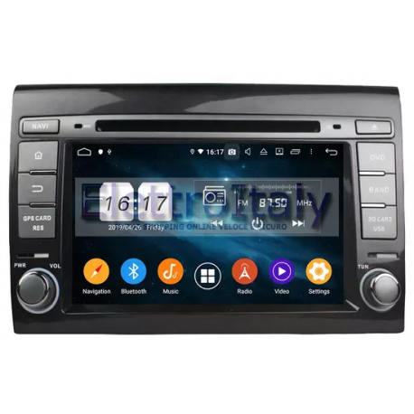 Navigatore Autoradio Android Fiat Bravo