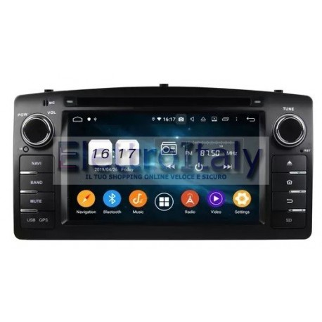 Cartablet Navigatore Toyota Corolla android Multimediale DAB