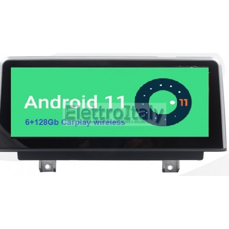 Navigatore BMW 10 pollici Serie 1 Serie 2 F20 F23 Android