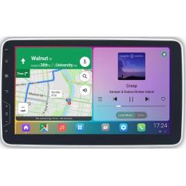 Cartablet Autoradio Navigatore 1 DIN universale 10 pollici Android VIVID DSP Carplay Android Auto HDMI