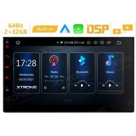 Autoradio Navigatore 2 DIN 7 pollici universale Android 10