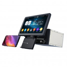 Cartablet Autoradio Navigatore universale 2 din 10 pollici Android wireless charge