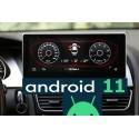 Navigatore Android GPS AUDI A4 A5 MMI 10 pollici Carplay HD
