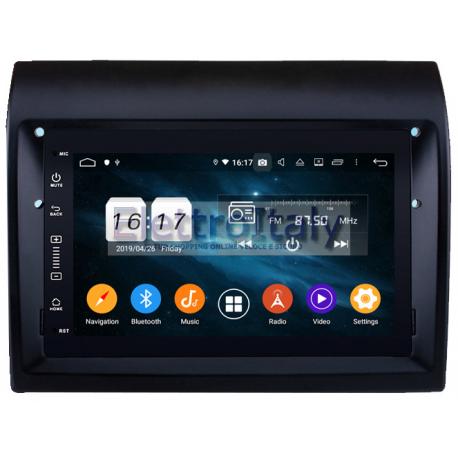 Navigatore Autoradio Fiat Ducato Peugeot Boxer Android 10 Multimediale
