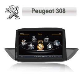 Autoradio Navigatore Peugeot 308 Multimediale S100 C190