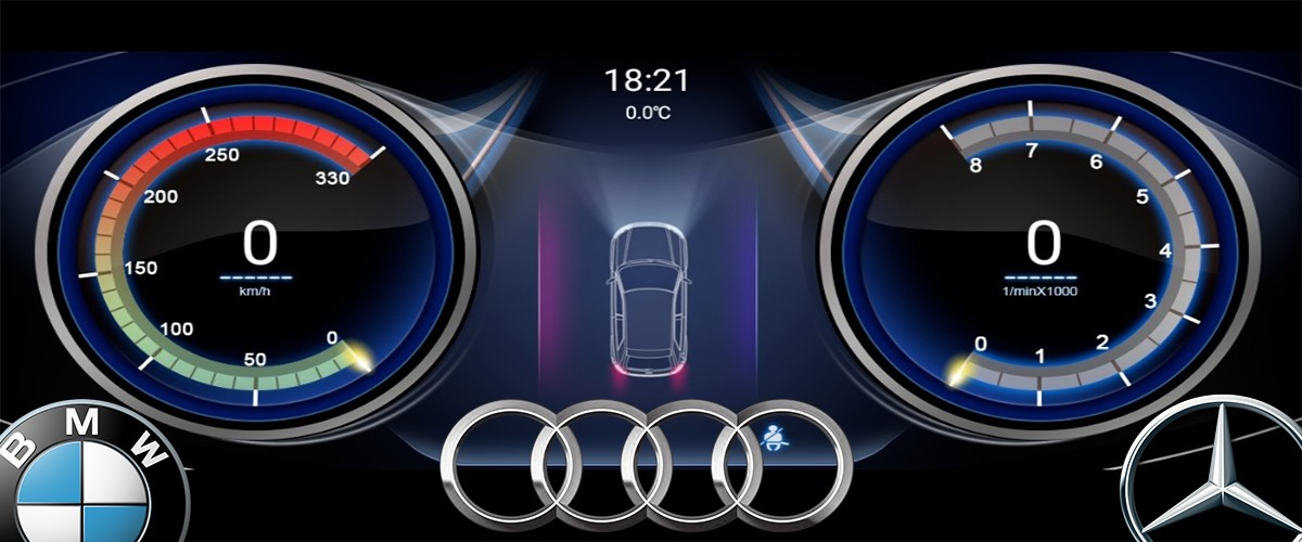 Cartablet Mercedes Audi BMW