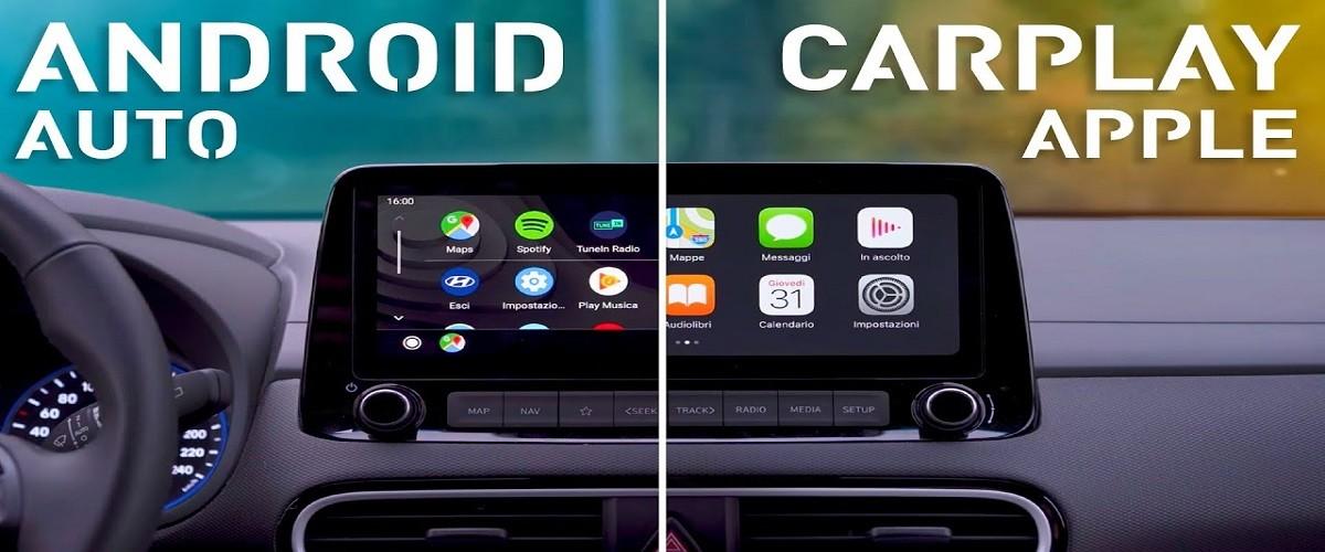 Sistemi Carplay e Android Auto